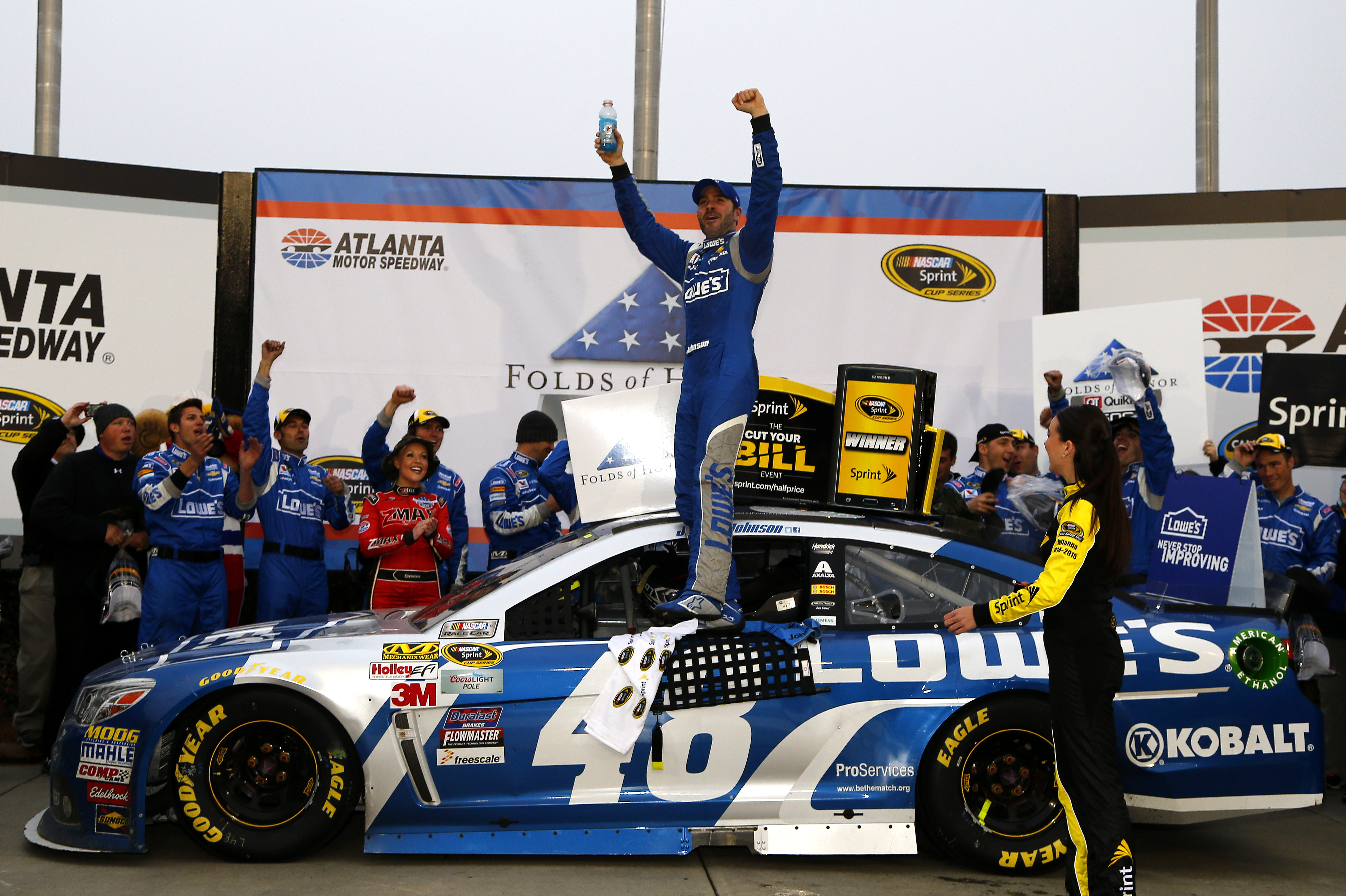 Starting From 37th Place Jimmie Johnson Won The 56th