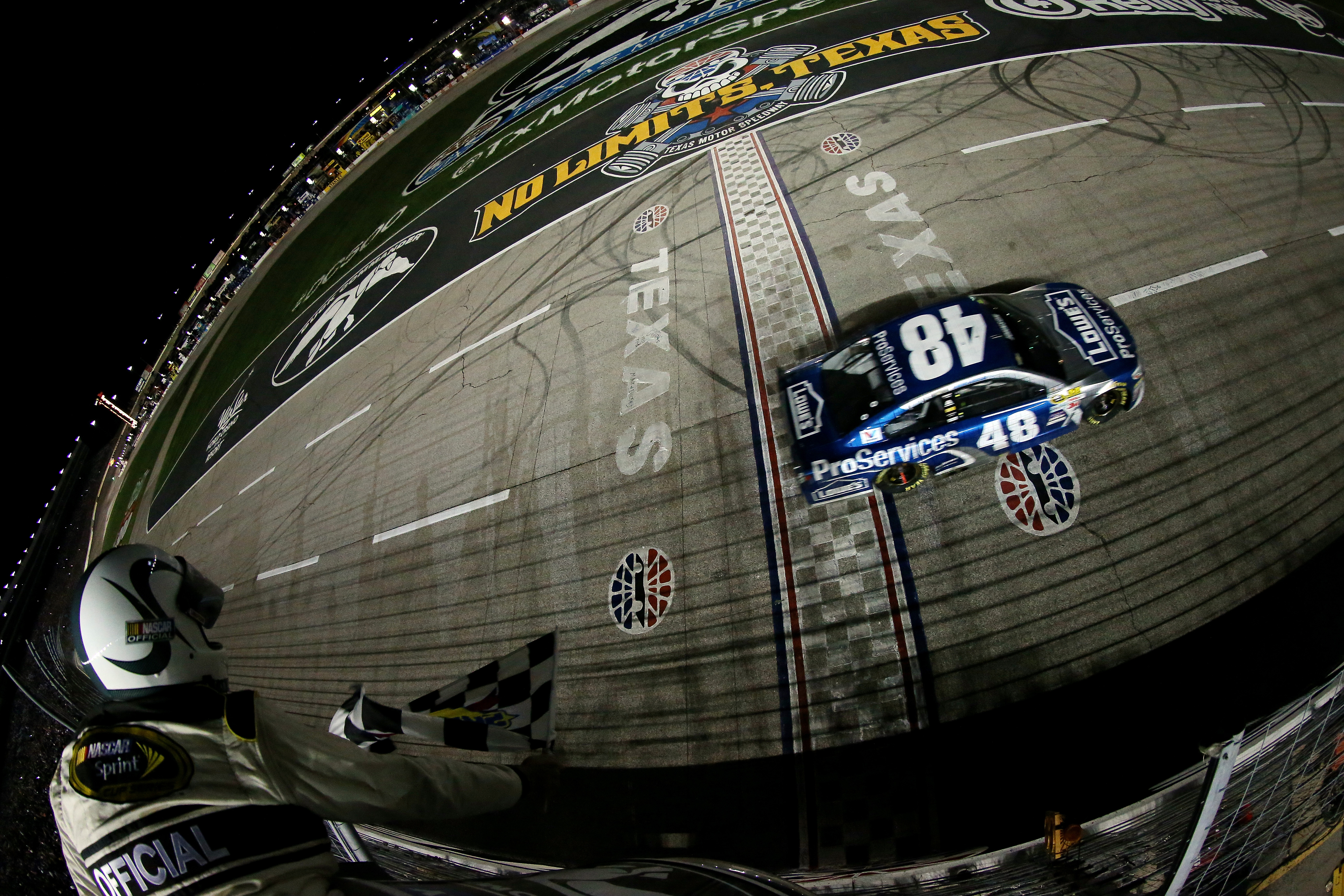 Jimmie johnson won the nascar sprint cup series 19th for Texas motor speedway 2015 schedule