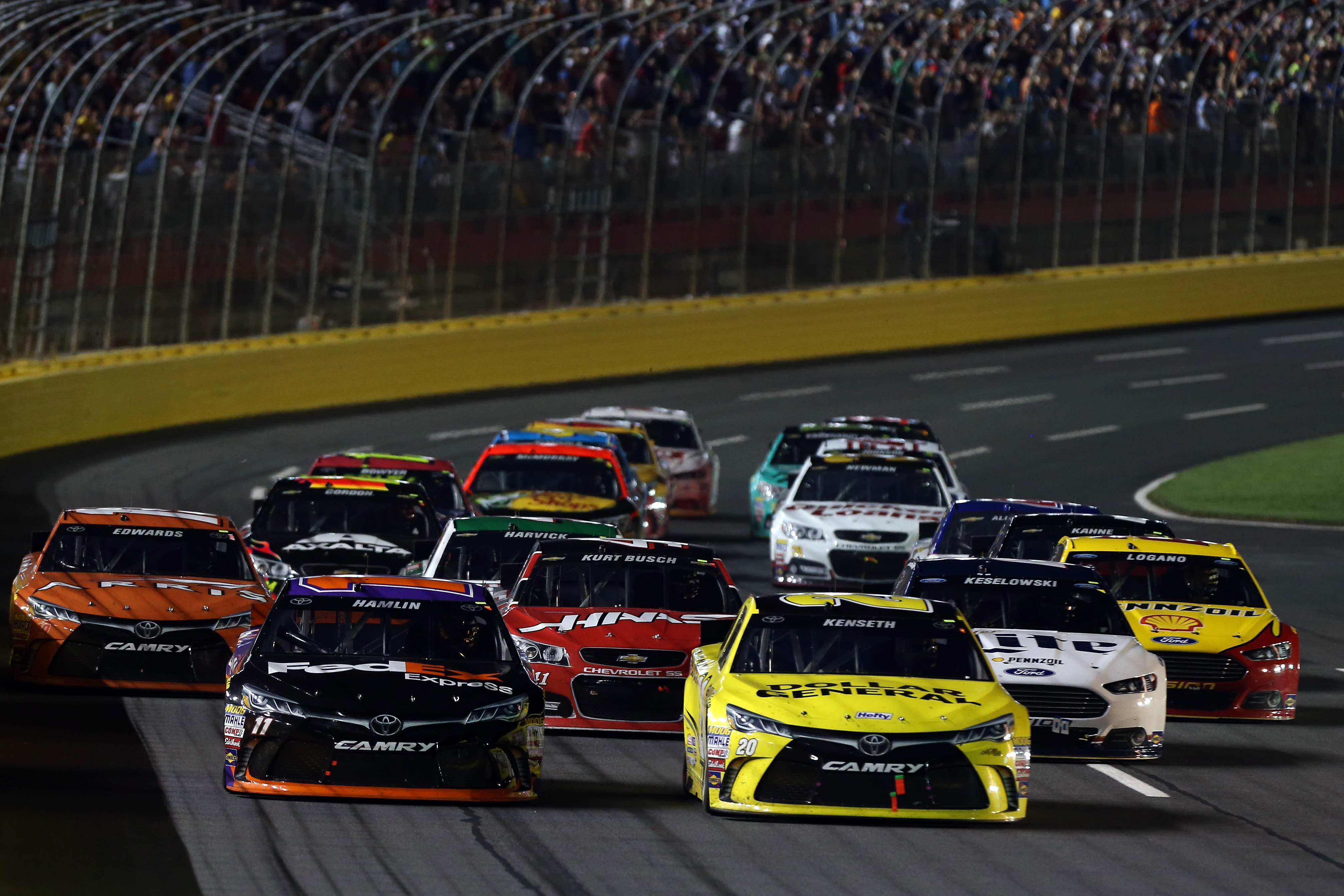 8eff0db8fade4f Denny Hamlin won the NASCAR Sprint Cup Series All-Star Race at ...