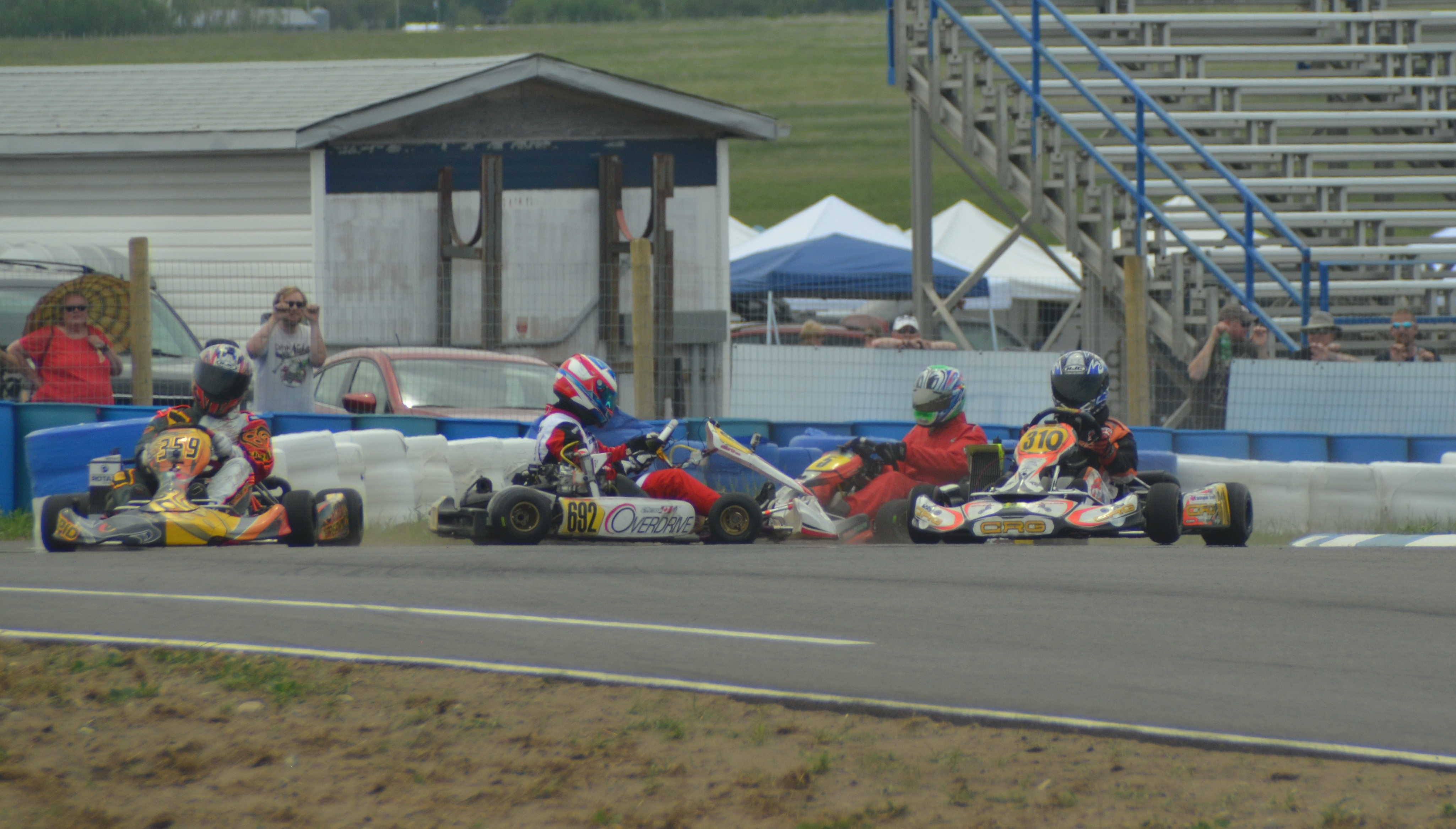 First Race Day For Calgary Kart Racing Club At New Track
