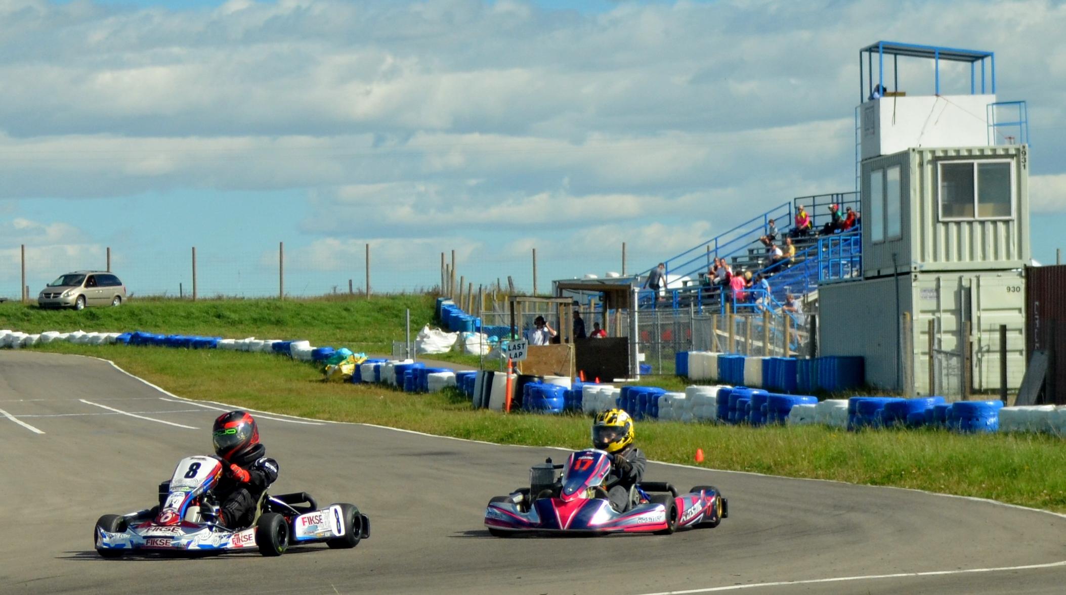 Exciting Double Header Weekend Of Ckrc Kart Racing