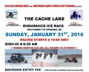 Cache Lake Endurance Ice Race
