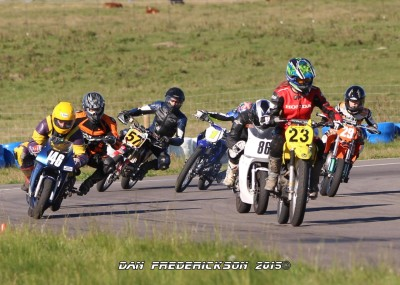 Motorcycle Racing At North Star Raceway In Strathmore Ab