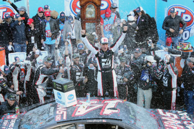 Clint Bowyer Won The Monster Energy Nascar Cup Series Stp