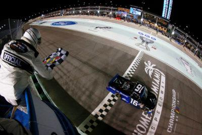 Brett Moffitt won the NASCAR Camping World Truck Series Final Race