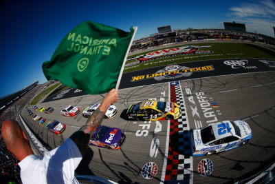 Kevin Harvick won the 14th Annual AAA Texas 500 at Texas Motor Speedway
