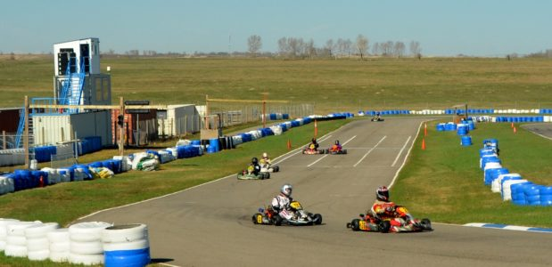 Kart Racing at North Star Raceway in Strathmore with the
